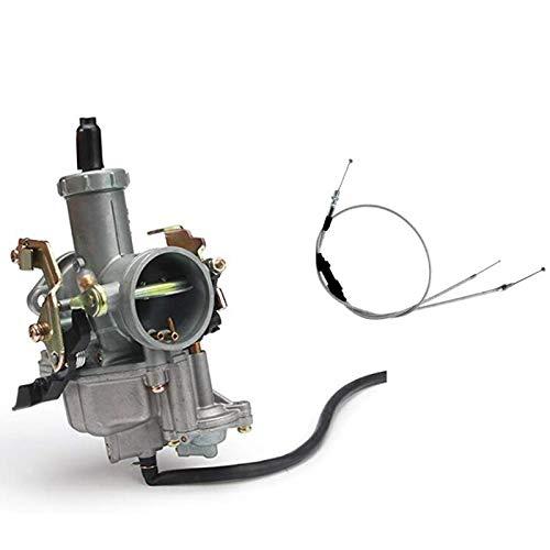 Nrpfell Pompa ccelerazione Carburatore PZ30 30Mm Racing per 200Cc 250Cc per Keihin BM IRBIS TTR 250 con Cavo cceleratore
