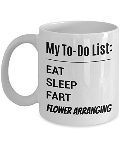 FLOWER ARRANGING Coffee Mug - My To-Do List
