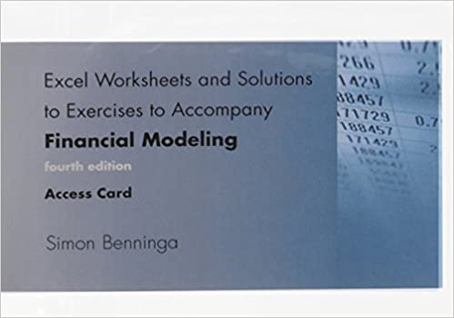 Excel Worksheets and Solutions to Exercises to Accompany Financial ...