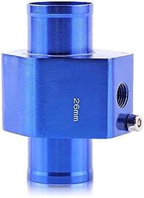 """34mm 1.34/"""" Water Temp Temperature Joint Pipe Sensor Gauge Radiator Hose Adapter"""