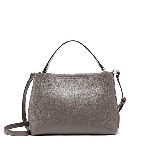 Bolso Portátil GUANGMING77 Dama gray Bolsa Negro Estampado Bolsa De Hombro xUUwa1gH