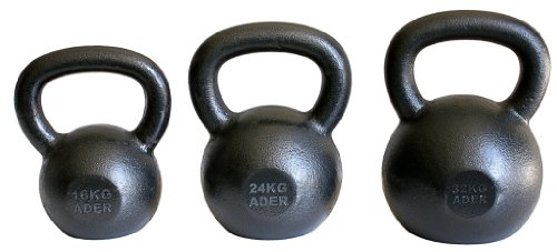Ader Premier Kettlebell Set- (16, 24, 32 Kg)