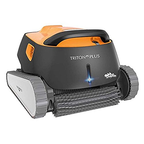 Dolphin Triton Plus Robotic Pool Cleaner with PowerStream and Bluetooth by Dolphin
