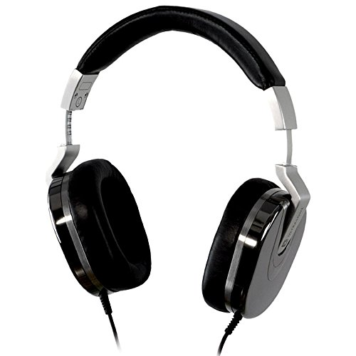 Ultrasone Edition 8 Ruthenium S-Logic Surround Sound Professional Closed-back Headphones with Leather Transport Bag