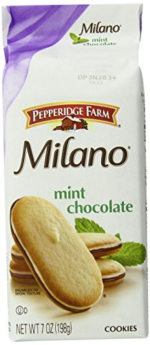 Pepperidge Farm Milano Cookies, Mint, 7 Ounce (Pack of 24) (Pepperidge Farm Mint Cookies)
