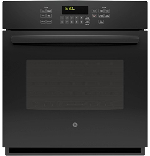 GE JK5000DFBB 27″ Black Electric Single Wall Oven – Convection
