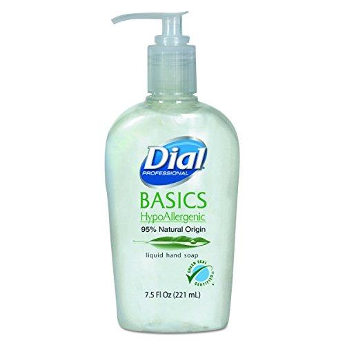 Dial Professional 06028CT Basics Liquid Hand Soap, 7.5 oz,