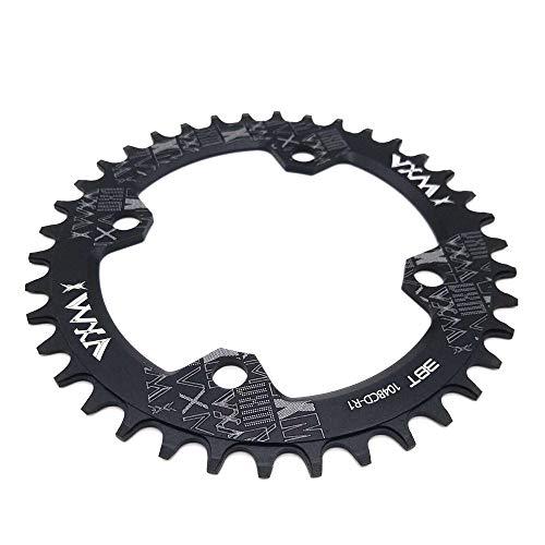 VXM 104BCD Chainring 32T 34T 36T 38T【2019 CNC 7075-T6 Aluminum】 Narrow Wide Chain Ring for Road Bike,Mountain Bike,BMX Bike,MTB Bike Parts (38T) (Best Recumbent Road Bike 2019)