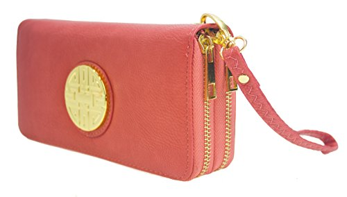 Canal Collection Leather Wristlet Organizer