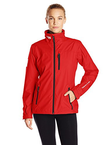 Helly Hansen Women's Crew Mid Layer Jacket, Red, XX-Large by Helly Hansen