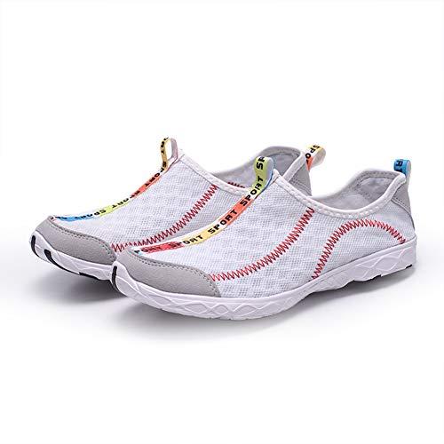 Asciugatura Bianco Rapida Scarpe Uomo Traspiranti Unisex Fashion Estive Donna Spiaggia Sandali Nuoto Trekking q67I7wB