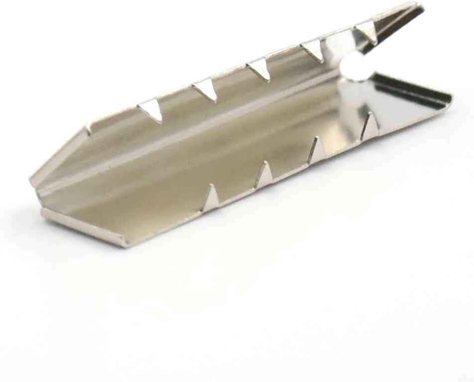 """1/"""" 25mm Belt Buckle End Tip For Webbing Tag Bag Polyprop Bluemoona 10 Pcs"""