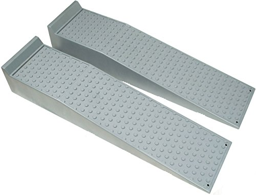 BUNKERWALL Large Heavy Duty Truck and Car Drive Up Wheel Ramps - 10 Tons - Professional Grade BW4211