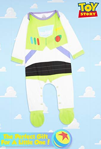 Disney Toy Story Tutine Neonato Buzz Lightyear, Pigiama Intero Bambino, Tutina per Neonati in Puro Cotone, Abbigliamento… 6