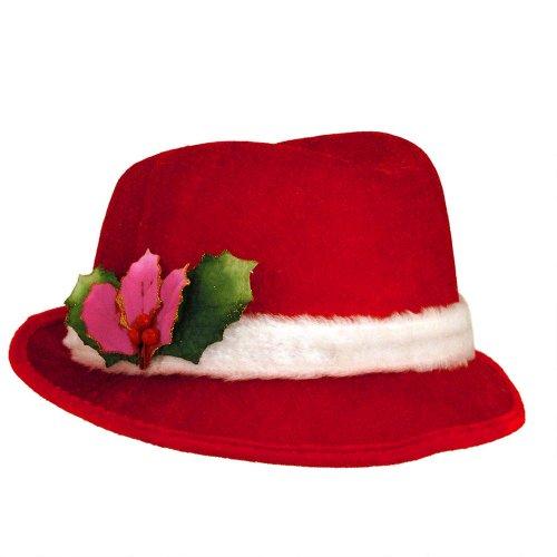 Slick Santa Christmas Fedora -