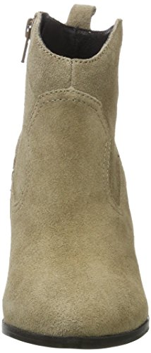 Buffalo London 414-9489 Cow Suede, Bottes Femme Gris (Taupe 01)