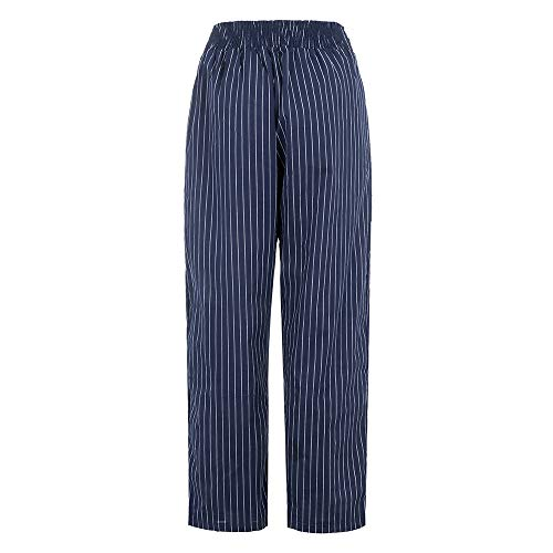 SMALLE ◕‿◕ Clearance,Pants for Women,Fashion Striped Big Pockets Loose Casual Straight Ankle-Length Pants by SMALLE