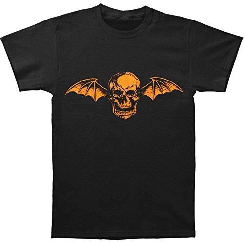 Avenged Sevenfold Men's Halloween Deathbat T-shirt X-Large Black -