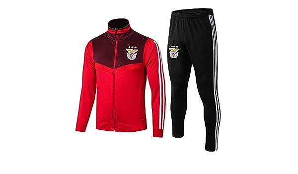 HULUNBR Benfica Camiseta De Manga Larga De Fútbol Club Ropa ...
