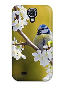 Durable Defender Case For Galaxy S4 Tpu Cover(bird)