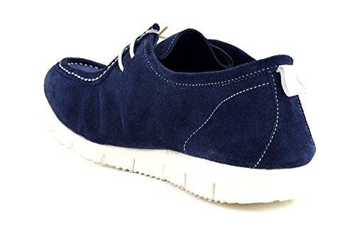 Cafè Noir OQS604228420 228 BLU 42 SUEDE Chaussures à lacets