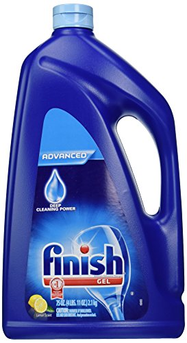 Automatic Detergent (Finish Gel Automatic Dishwasher Detergent, Lemon Scent 75 oz)