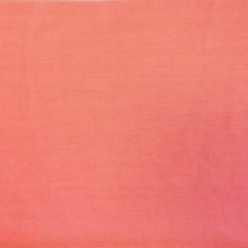 "Cotton Polyester Broadcloth Fabric Premium Apparel Quilting 45"" (1 YARD, Coral)"