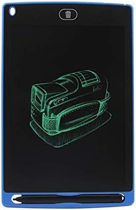 YKAIEET 8.5インチの子供の手書きボードLCD光エネルギー電子黒板小型LCDグラフィティライティングボード手描きボード (色 : 青, Size : 8.5 Inch)