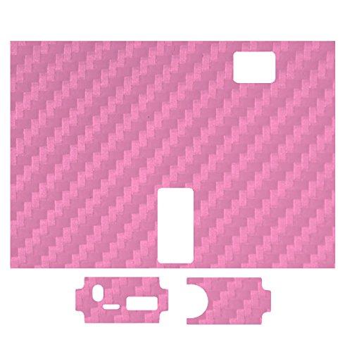 Skin 2 Win Pink Carbon Protective Vinyl Skin Wrap Sticker Decal For Mvp 2 20W Watt Innokin Vape