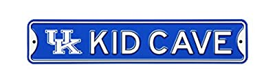 Authentic Street Signs NCAA Officially Licensed, Premium Grade Solid Steel Kid CAVE Street Sign- Prime Wall Decor for Bedrooms, Game Rooms, Play Rooms- The