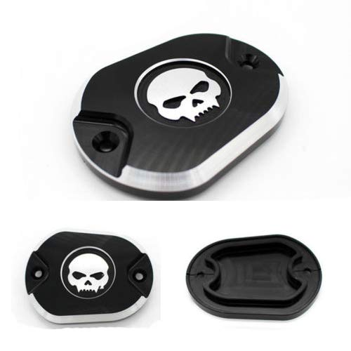 5 in 1 Skull Engine Derby Timer Cover For Harley Sportster Iron XL883 1200 48 72 Brake Cylinder Brake Pedal Pad Chain Inspection Cover ✔