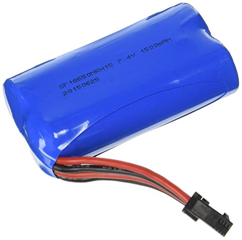 Replacement Battery for UDI R/C UDI007 Voyager / UDI002 Tempo Speed Boat 7.4V 1500mAh Rechargeable Li-ion (Geniune UDI)