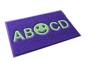 Vida Star ABCD Felpudo para puerta de baño absorbente pad