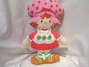 "Strawberry Shortcake Doll 19"" Stuffed Sewing Pattern Large Collectible"