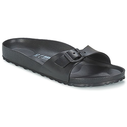 Birkenstock Women's Madrid EVA Sandals, Black Synthetic, 40