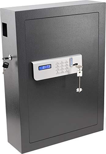 Viking Security Safe VS-100KS Digital Key Cabinet Digital Key Safe with Lockable Drop Slot 100 Key Capacity