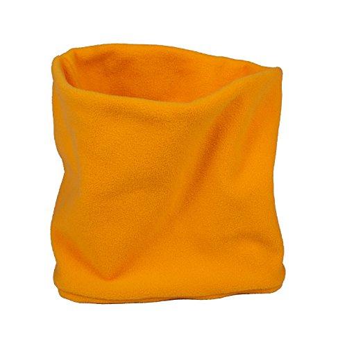 Lupa Kids Canadian-Made 2-Ply Micro Fleece Neck Warmer/Gaiter (Yellow)