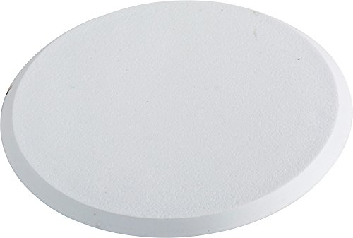 Simple Home Solutions DKWG-40 Adhesive Wall Guard-Door Knob Wall PROTECTOR Wall Shield Adhesive Door Knob-Wall PROTECTOR,, 40 Units,, White by Simple Home Solutions