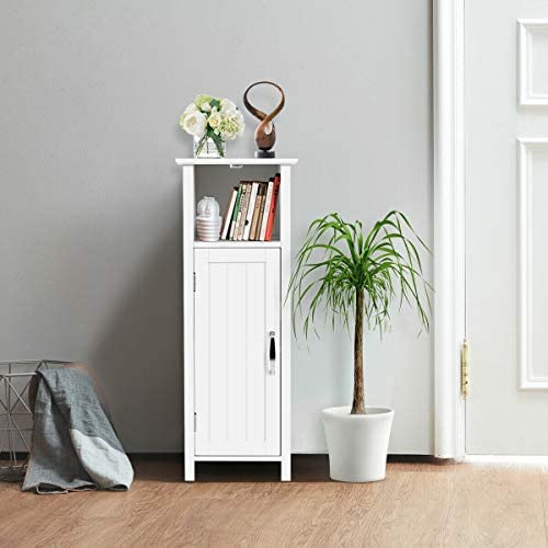 home, kitchen, furniture, accent furniture,  storage cabinets 6 discount Tangkula Bathroom Storage Cabinet, Multifunctional Storage Cabinet with deals