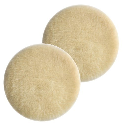Porter Cable 7336/97466 Sander Hook & Loop 6 Lambswool Polishing Pad (2 Pack) # 18007-2pk by PORTER-CABLE