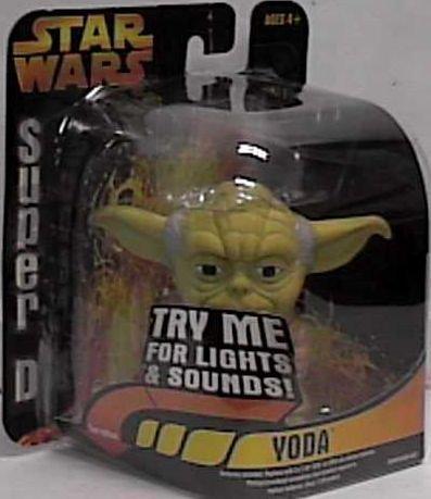 Star Wars Super Deformed Yoda Ep3 Revenge of the Sith