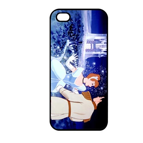 Coque,Phone Case Covers Simple Coque iphone SE & Coque iphone 5 & Coque iphone 5S Case Cover Cover Casing(Cinderella Characters)