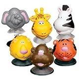 12 Zoo Animal Pop Up Toys