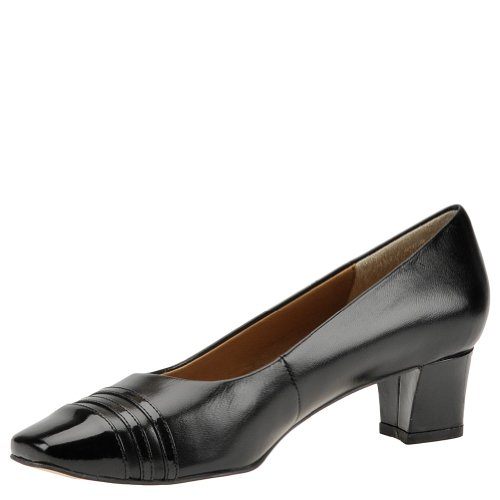 Auditions CLASSY Womens Pump Black-black bwtKBF6D