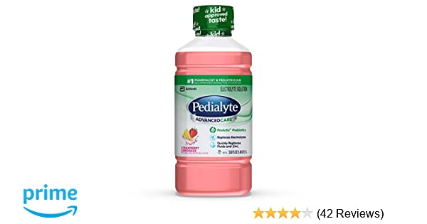 Pedialyte AdvancedCare Electrolyte Solution with PreActiv Prebiotics,  Hydration Drink,