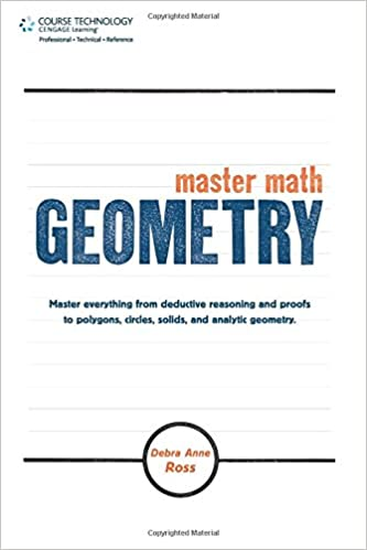 Master Math: Geometry: Debra Anne Ross: 9781598639841: Amazon.com ...