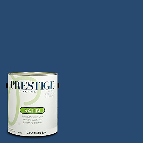 Prestige Paints Exterior Paint and Primer In One, 1-Gallon, Flat ...