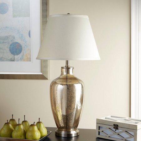 Mercury Nickel Table Lamp - 4