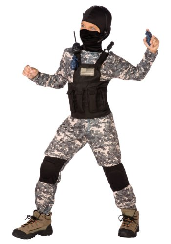 Big Boys' Navy Seal Costume Large