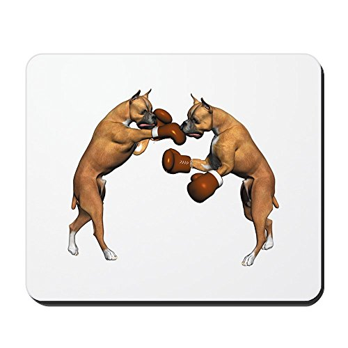 - CafePress - Boxer Dogs Boxing Mousepad - Non-slip Rubber Mousepad, Gaming Mouse Pad